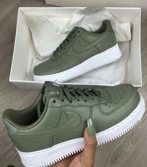 Nike Air Force 1 Vertes