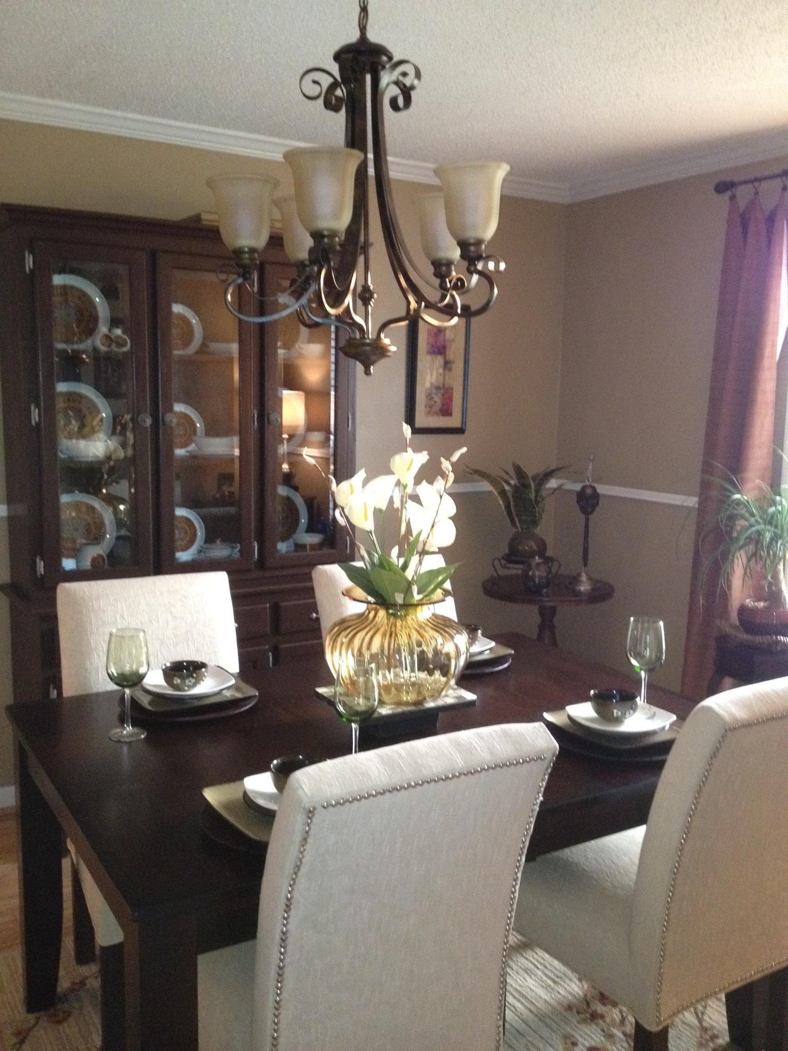 painted room a warm brown  home decor decor room paint