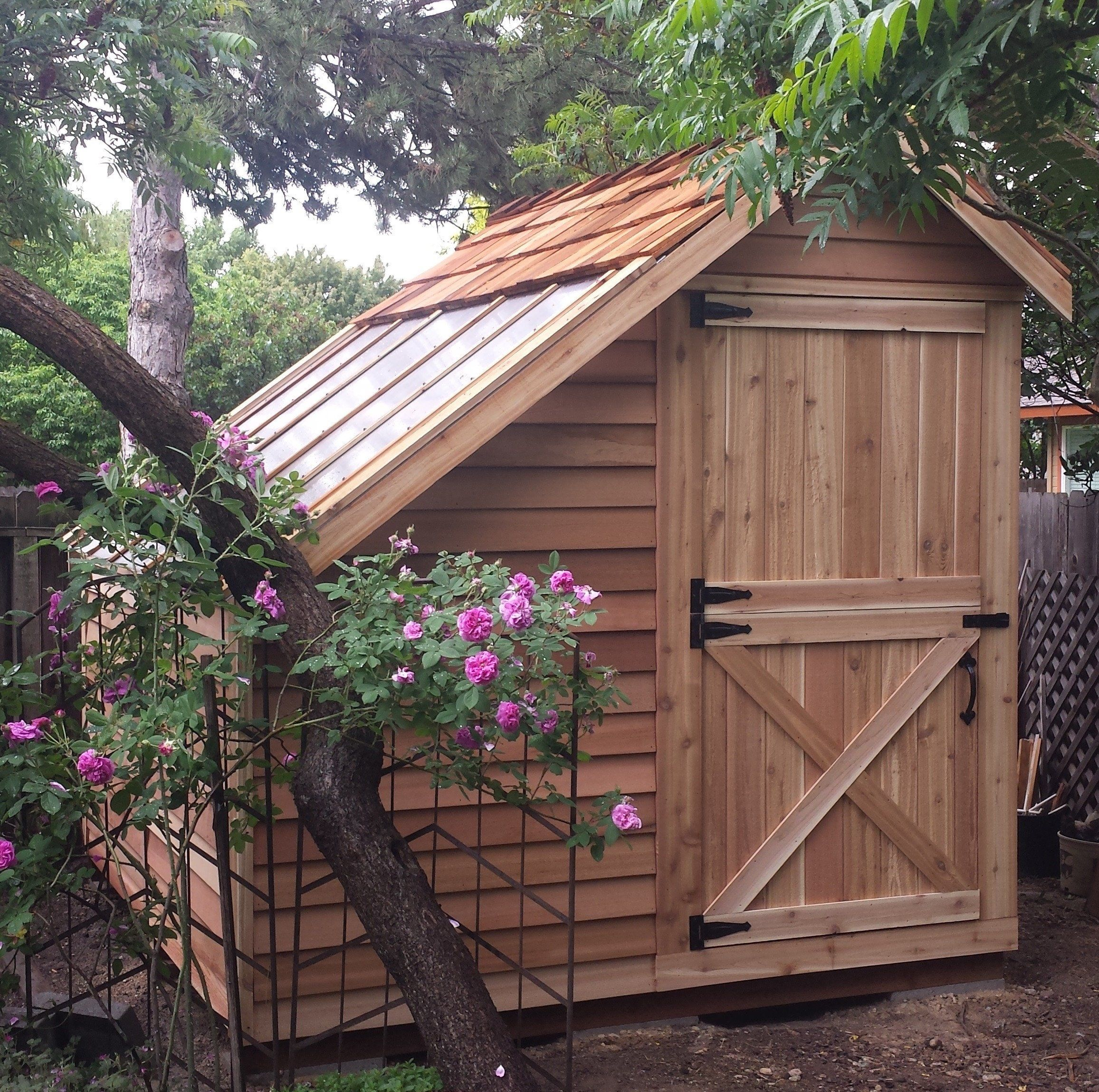 Diy Sheds For Sale: Sunhouses - Western Red Cedar Greenhouses