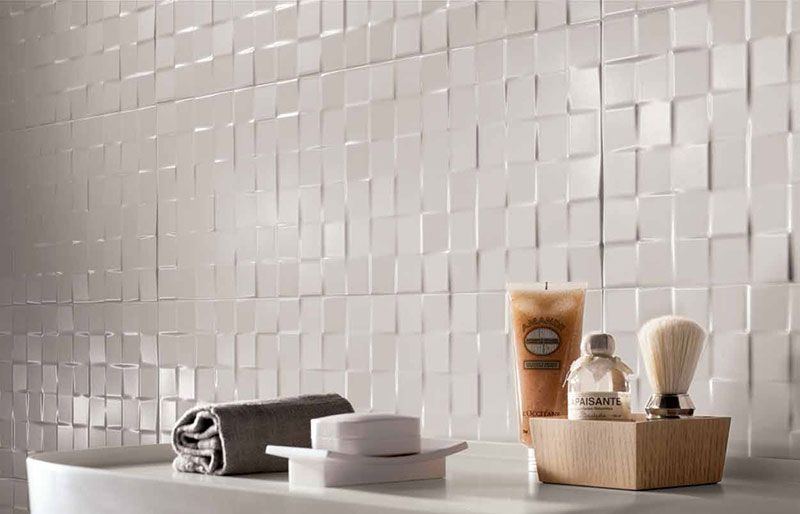 Lumina Square Deco Matt 25x75 Floor And Wall Tiles Tilespace