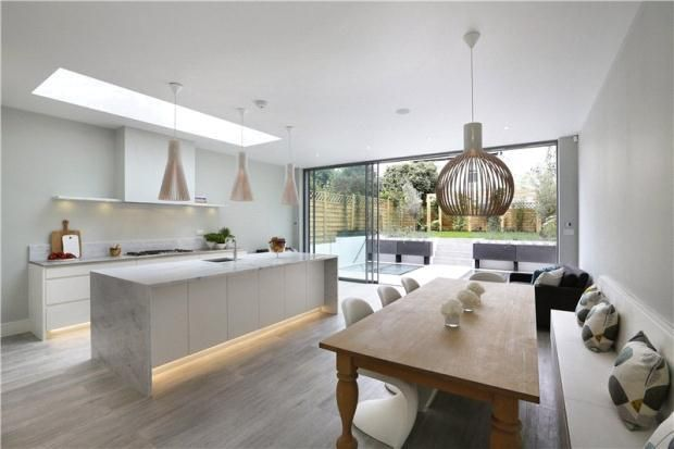 Semi Detached House For Sale In Stevenage Road Fulham London Sw6 30801092 Kitchen Layout Open Plan Kitchen Living Room Kitchen Dining Living