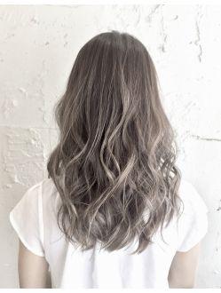 夏オススメカラー ミントアッシュ 透け感ハイライト 髪 カラー ミントアッシュ 髪 色