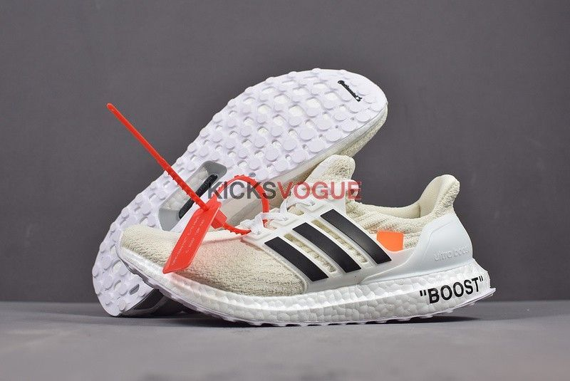 49f1716ab0b Custom OFF WHITE x adidas Ultra Boost By Virgil Abloh