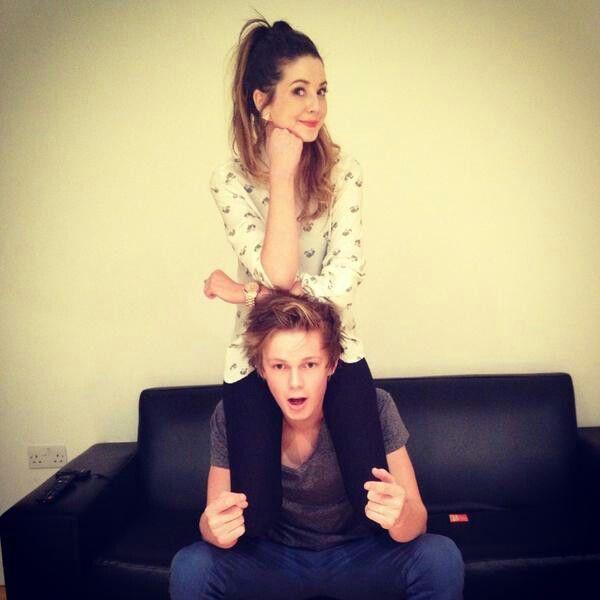 Zoella and Caspar Lee
