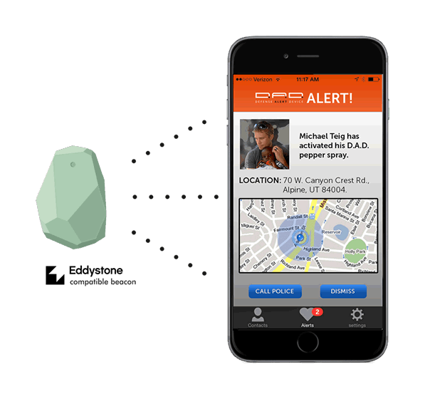 Eddystone beacon mobile app development company India