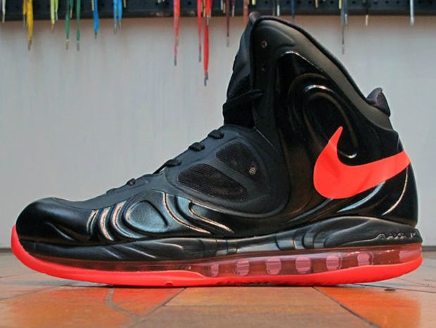 new product 8a270 d8240 Nike Air Max Hyperposite - Black/Bright Crimson-Black | Sneakers ...
