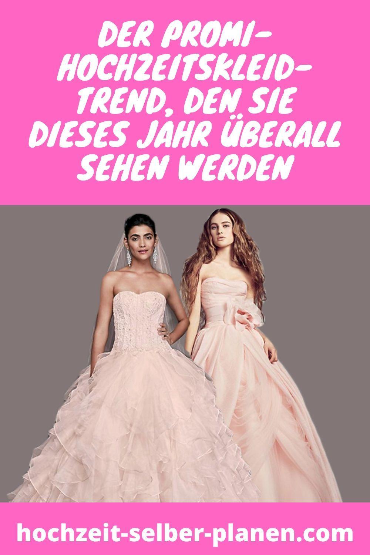 Der Promi-Hochzeitskleid-Trend, den Sie dieses Jahr