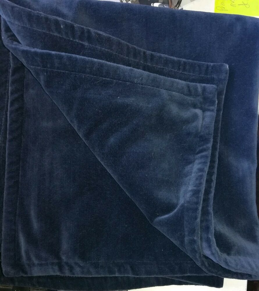 Pottery Barn Pillow Covers 20x20: Pottery Barn Pillow Cover 20X20 Dark Blue Velour #fashion