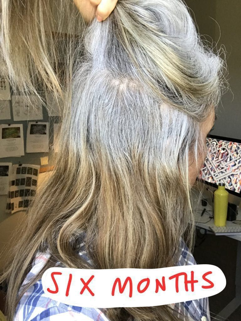 This Popular Gray Hair Transition Story Will Inspi