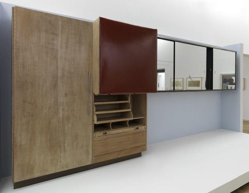 Charlotte perriand 1903 1999 studio bar 1930 sycomore et m tal 210 x 200 x 60 cm porte - Salle de bain charlotte perriand ...