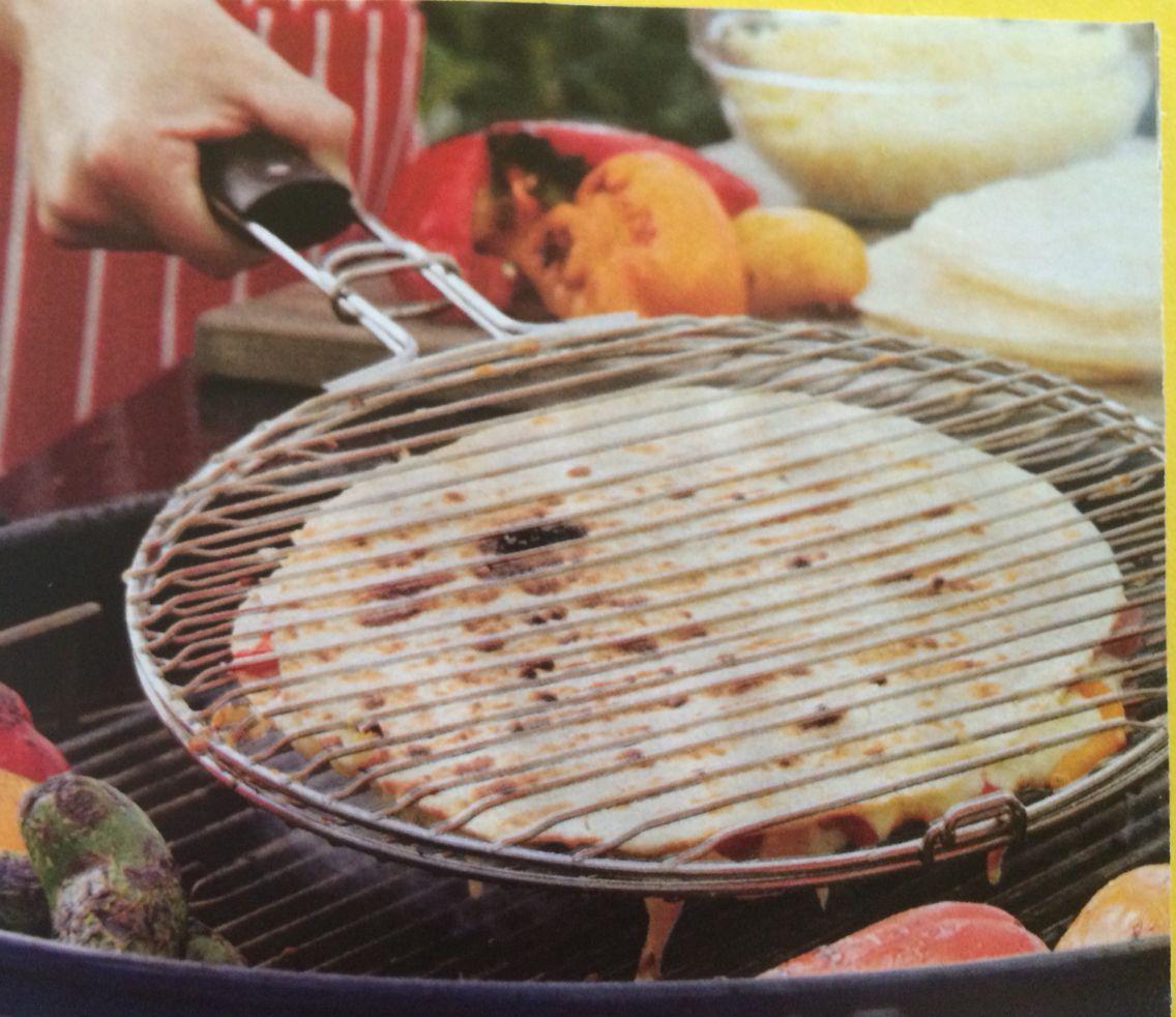 Quesadilla grilling basket Crate & Barrel Outdoor