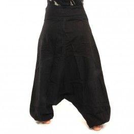 Pantalón estilo Harem de Nepal con lateral bolsillos talla S