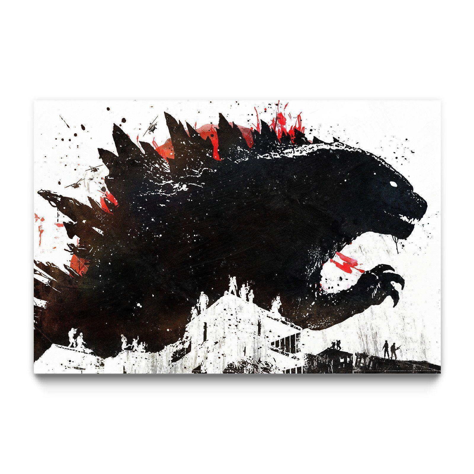 Monster Godzilla wallpaper, Godzilla tattoo, Godzilla