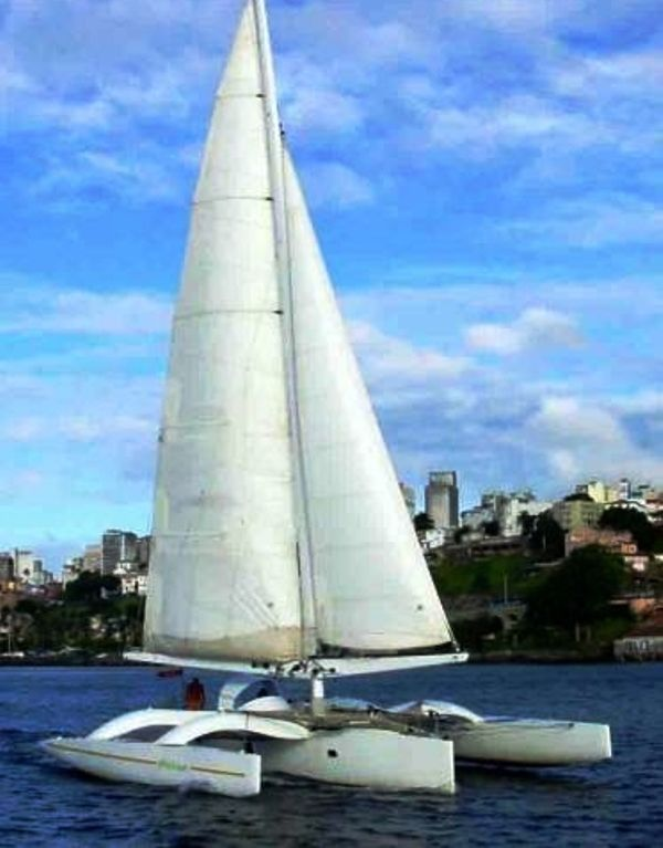 POLLEN 50 TRIMARAN- 1991 For Sale Price: € 550,000 00 VAT Paid: Yes