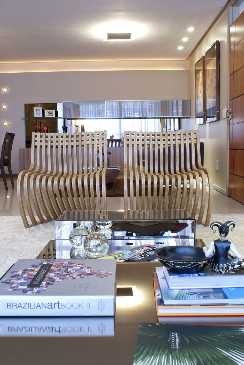 projeto de rquitetura de interiores para sala de estar e jantar