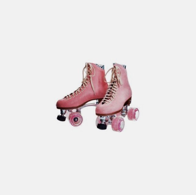 Thigh High Boots Costume Pink Roller Skates Roller Skates Pink Shoes