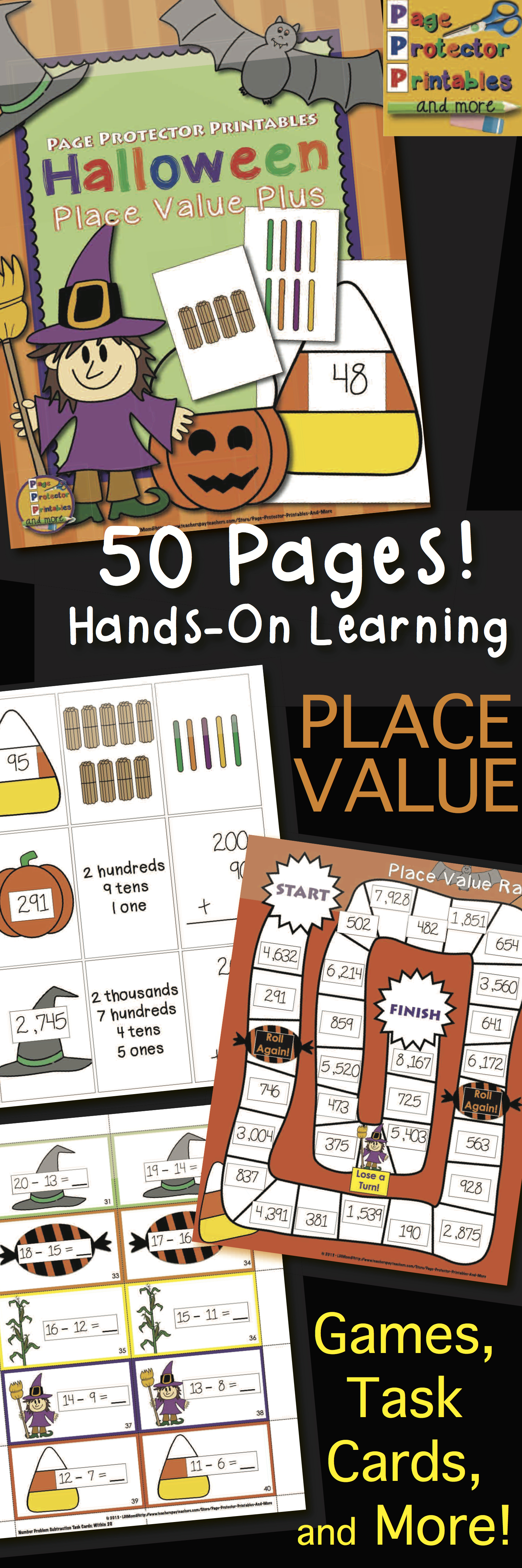 Halloween Place Value With Images