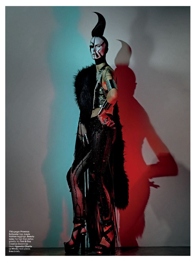 W Magazine / March 14 / War Rio R Star Nce / Photography by Steven Klein
