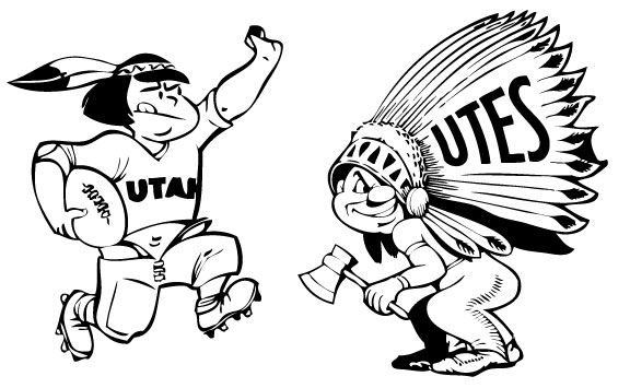 Here are some logos that University of Utah used in some