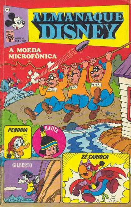 Beagle Brothers Peninha Havita Tank Moat Comics Comic