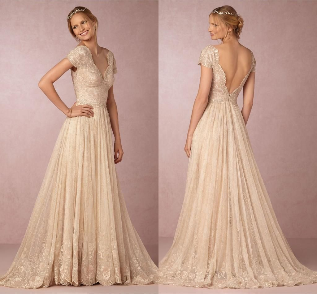 Plus size blush colored wedding dresses