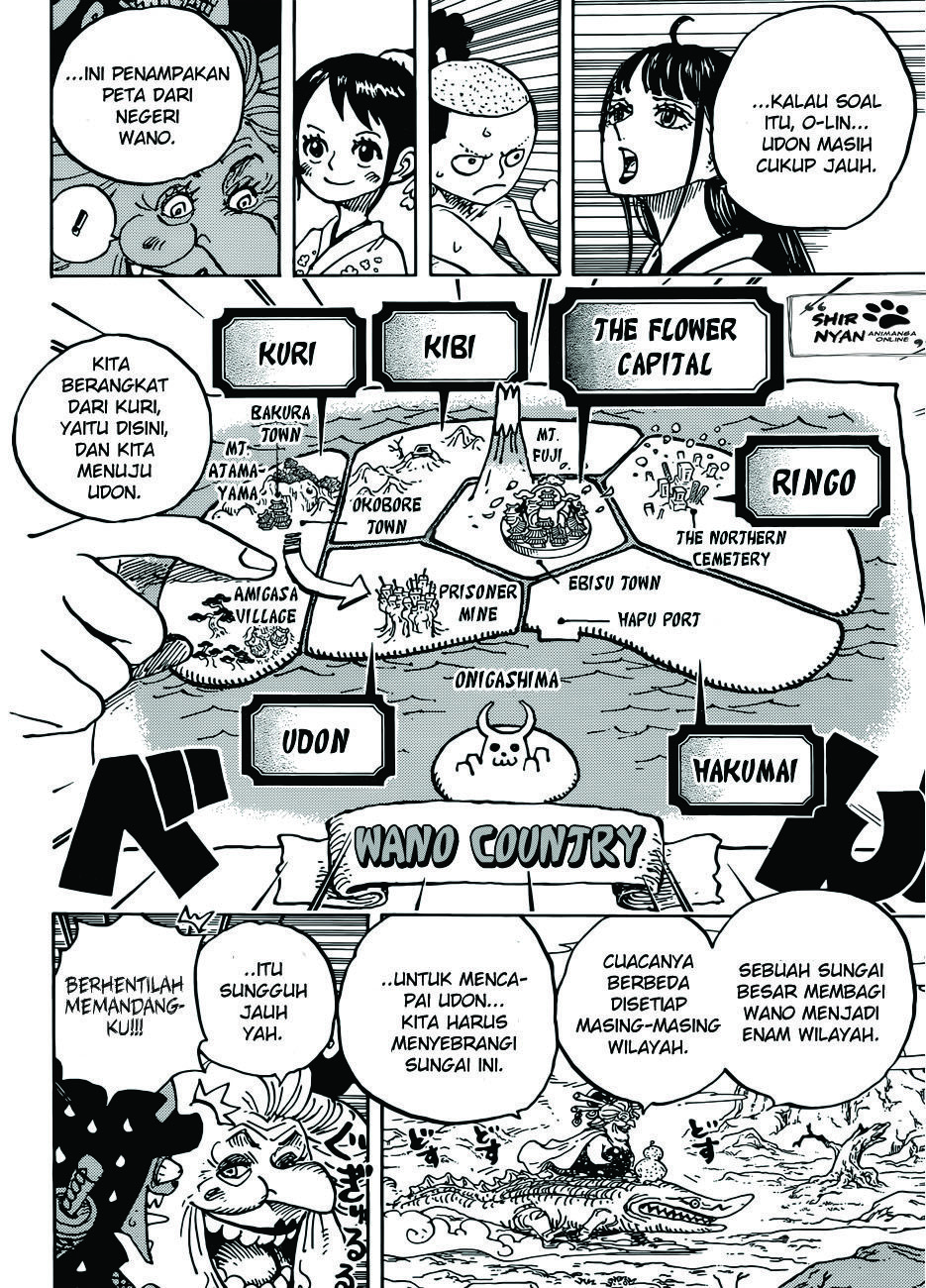 Komik One Piece Sub Indo : komik, piece, Piece, Chapter, Subtitle, Indonesia, Shironyan, Peta,, Piece,