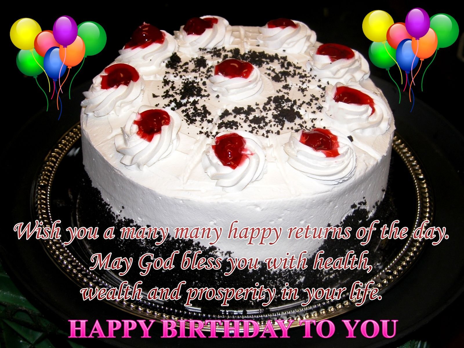happy birthday wishes - Free Large Images | birthday | Pinterest ...