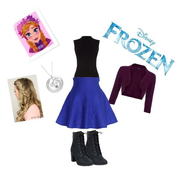 """""""Anna"""" by tiffanymhutton ❤ liked on Polyvore featuring Phase Eight, Oasis, Disney, Chicwish and Timberland"""
