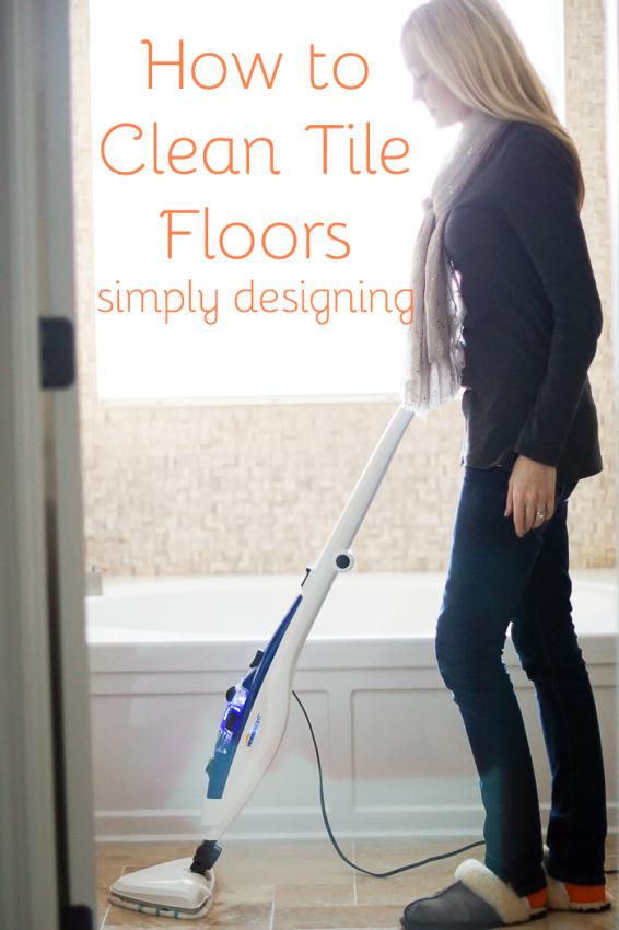 How To Clean Tile Floors Bloggers Best Diy Ideas Pinterest