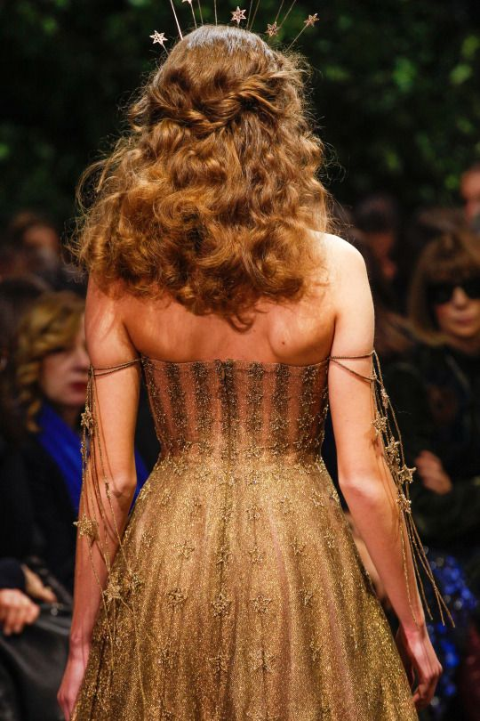 Details from Christian Dior Haute Couture Spring/Summer 2017.    Paris Fashion Week.