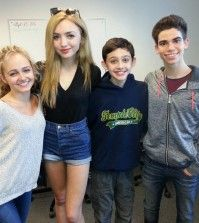 Photo Peyton List With Her Brother Spencer List May 27 2014 Cameron Boyce Peyton List Spencer List