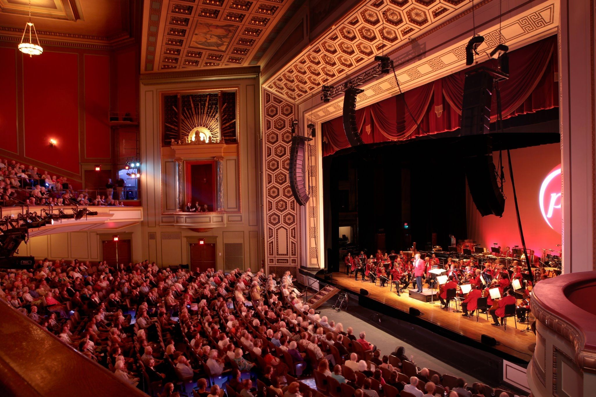 The Cincinnati Pops Orchestra Opens The Newly Renovated Taft