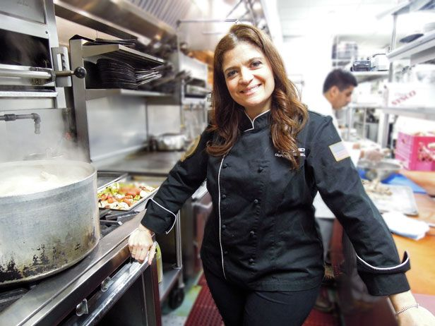 "Alex Guarnaschelli in her ""Butter"" restaurant"