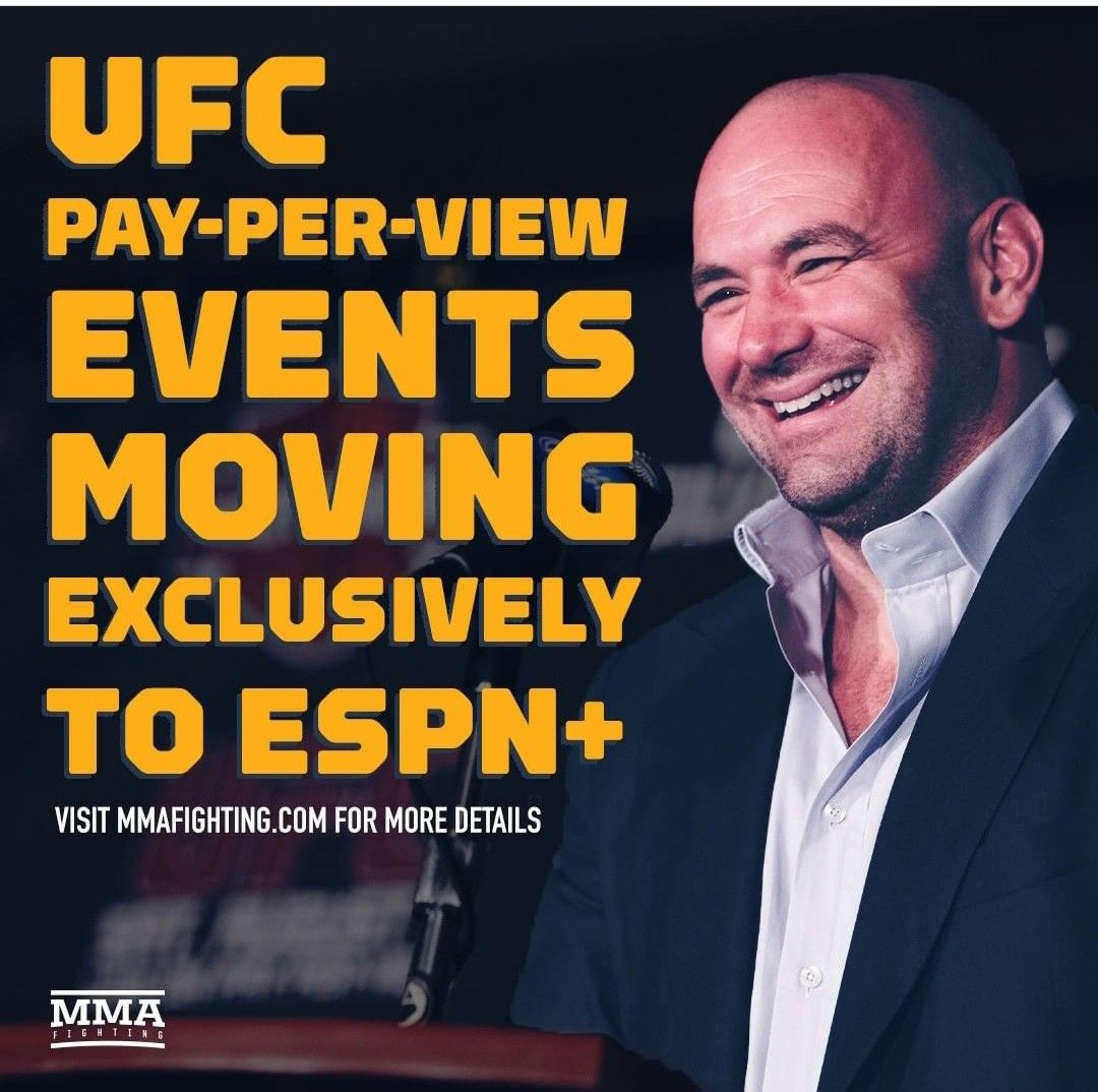 Pin by just saying on fight world pay per view ufc espn