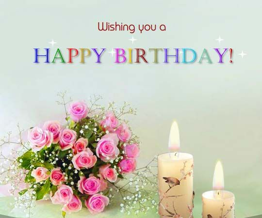 Birthday Cards To Send ~ Send these beautiful flowers to make your birthday friend feel
