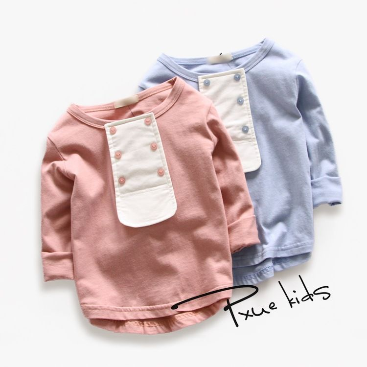$8.65 (Buy here: https://alitems.com/g/1e8d114494ebda23ff8b16525dc3e8/?i=5&ulp=https%3A%2F%2Fwww.aliexpress.com%2Fitem%2F2-8Years-children-kids-Brand-t-shirts-spring-autumn-2016-new-cartoon-baby-boys-girls-long%2F32599825947.html ) 2-8Years children kids Brand t shirts spring autumn 2016 new cartoon baby boys girls long sleeve cotton fashion tops for just $8.65