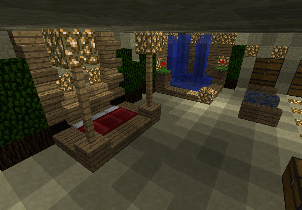 Minecraft bedroom ideas minecraft pinterest for Bedroom ideas on minecraft