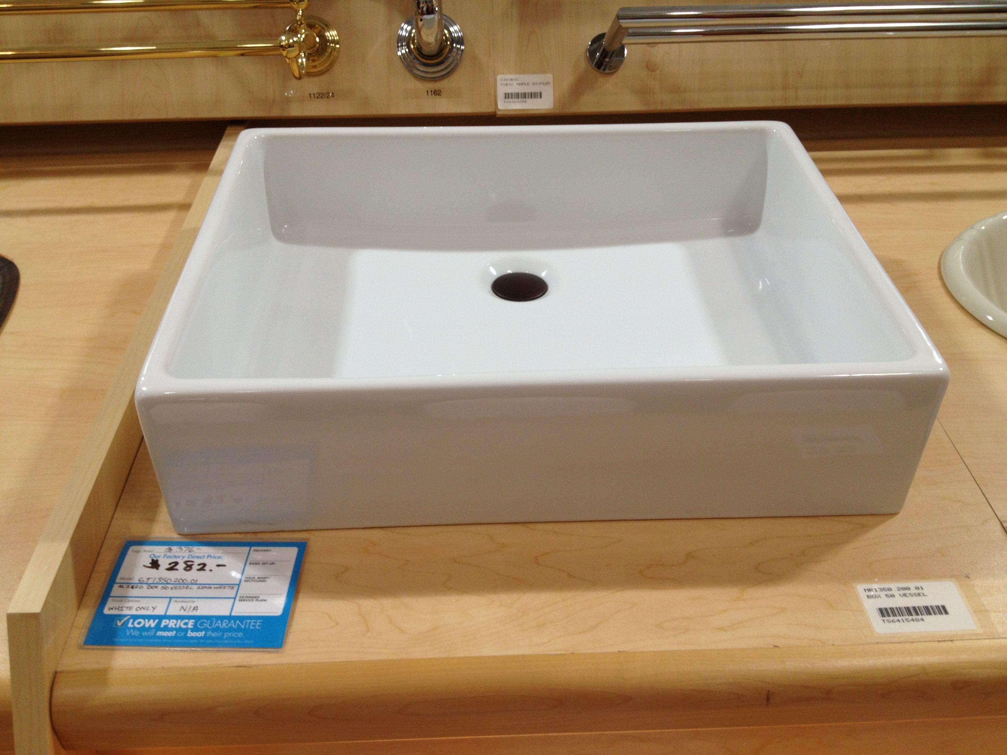 Sink Pacific Sales Bathroom Remodel Pinterest
