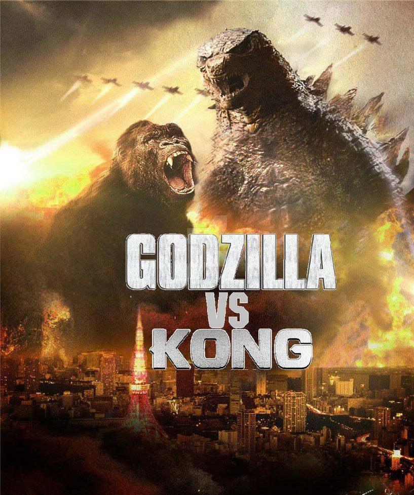 Godzilla Vs Kong 2020 Wallpaper 2nd By Leivbjerga On Deviantart King Kong Vs Godzilla Godzilla Wallpaper Godzilla Vs