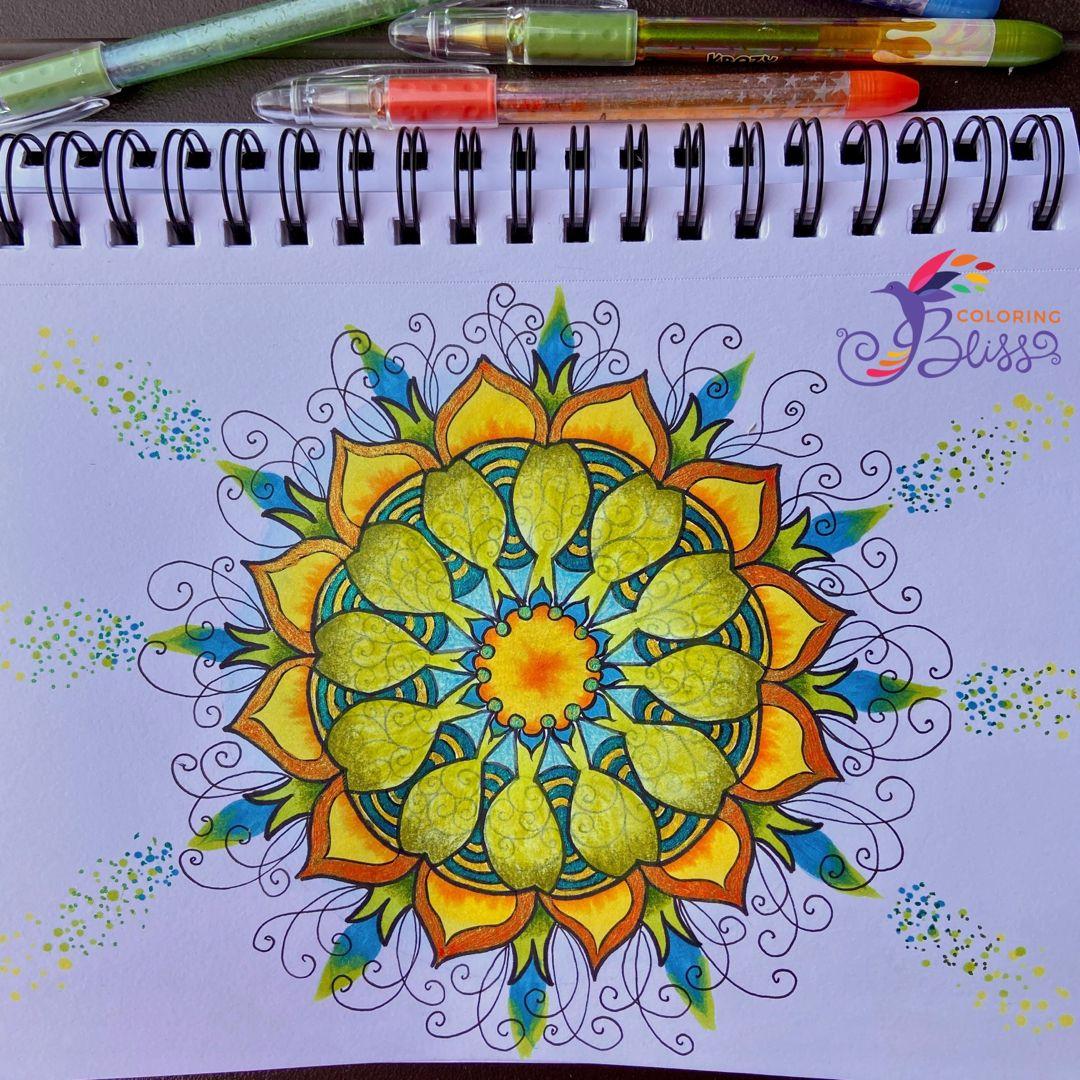 Draw A Mandala Mandala Coloring Books Mandala Coloring Pages Mandala Digital