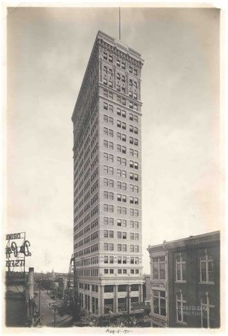 The Alico Building Waco Texas 1911 The American Life Insurance