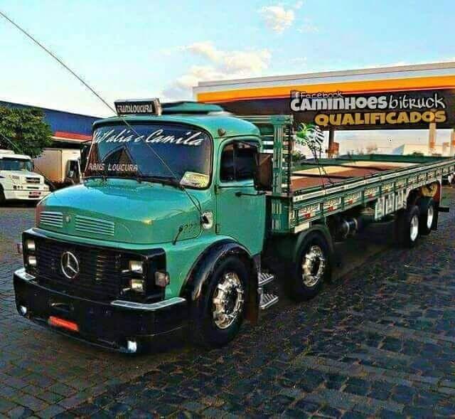 Mercedes Benz Truck Camion Diesel Caminhoes Mb Cara Preta Boca Negra Carros Tuneados Camiones Personalizados Carros Modificados