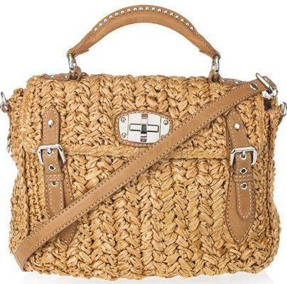 Would You Splurge On A Miu Raffia Bag Hell Yes Too Cute