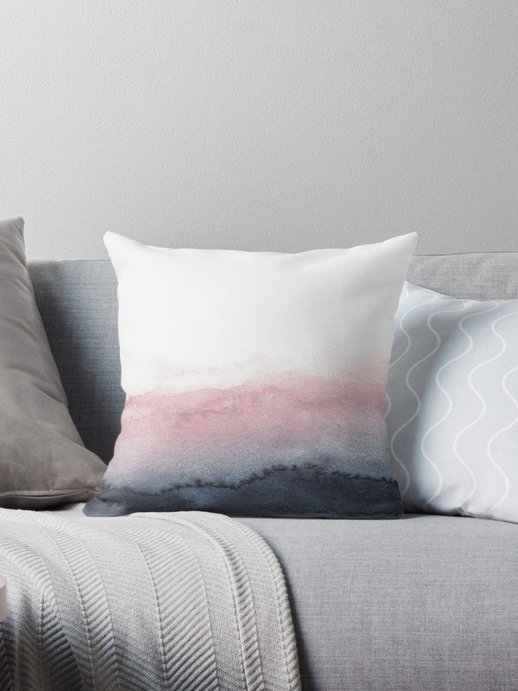 Mauve Pink Throw Pillow By Neptunedesigns In 2019 Pink