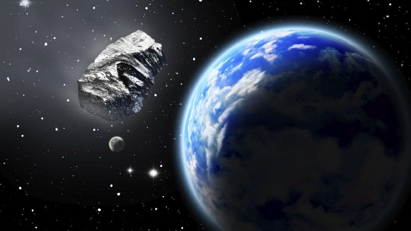 Das war knapp! Kosmischer Brocken rast an der Erde vorbei   Natur ...