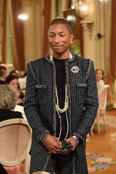 6331fd93de979 Pharrell Williams Photos Photos - Pharell Williams walks the runway during