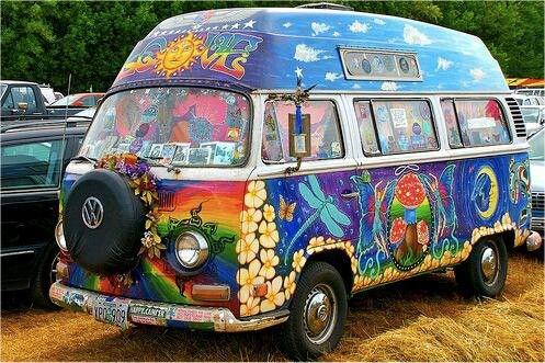 Hippie Wagon Things I Love Vw Hippie Van Vw Bus Cars
