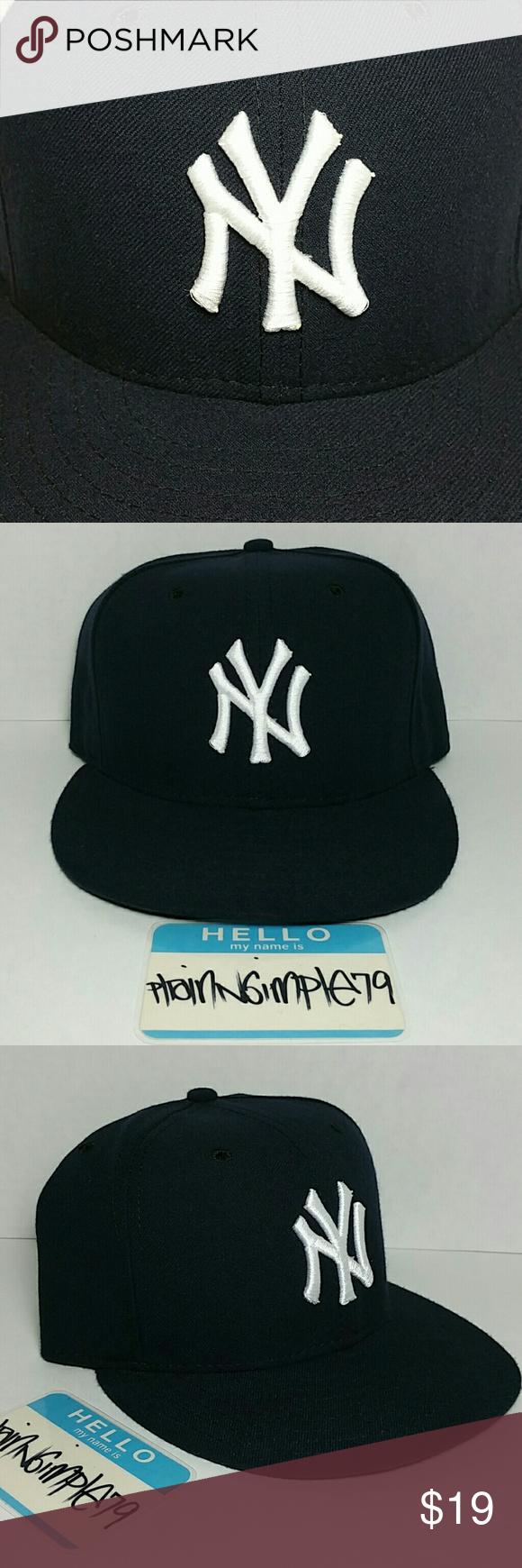 New York Yankees New Era Baseball Fitted Hat 7 3 8 Fitted Hats Baseball Fitted Hats New Era Fitted