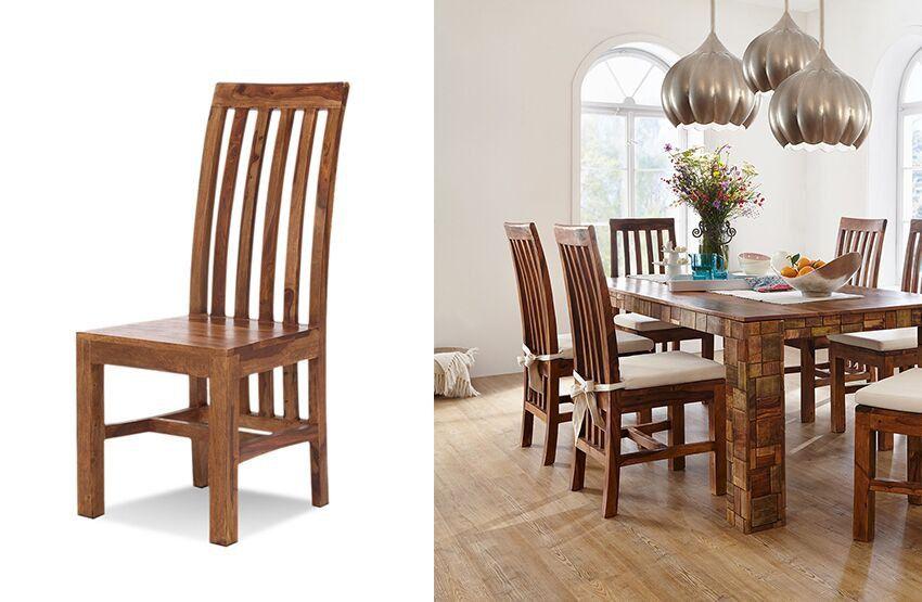 Essgruppe #Vintage (5-teilig) - #Esstisch \ 4 #Stühle ohne - küchentisch mit stühlen