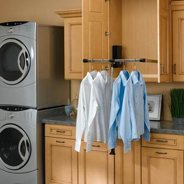 drop down drying rack oooh laundry room pinterest laundry rooms laundry and modern. Black Bedroom Furniture Sets. Home Design Ideas